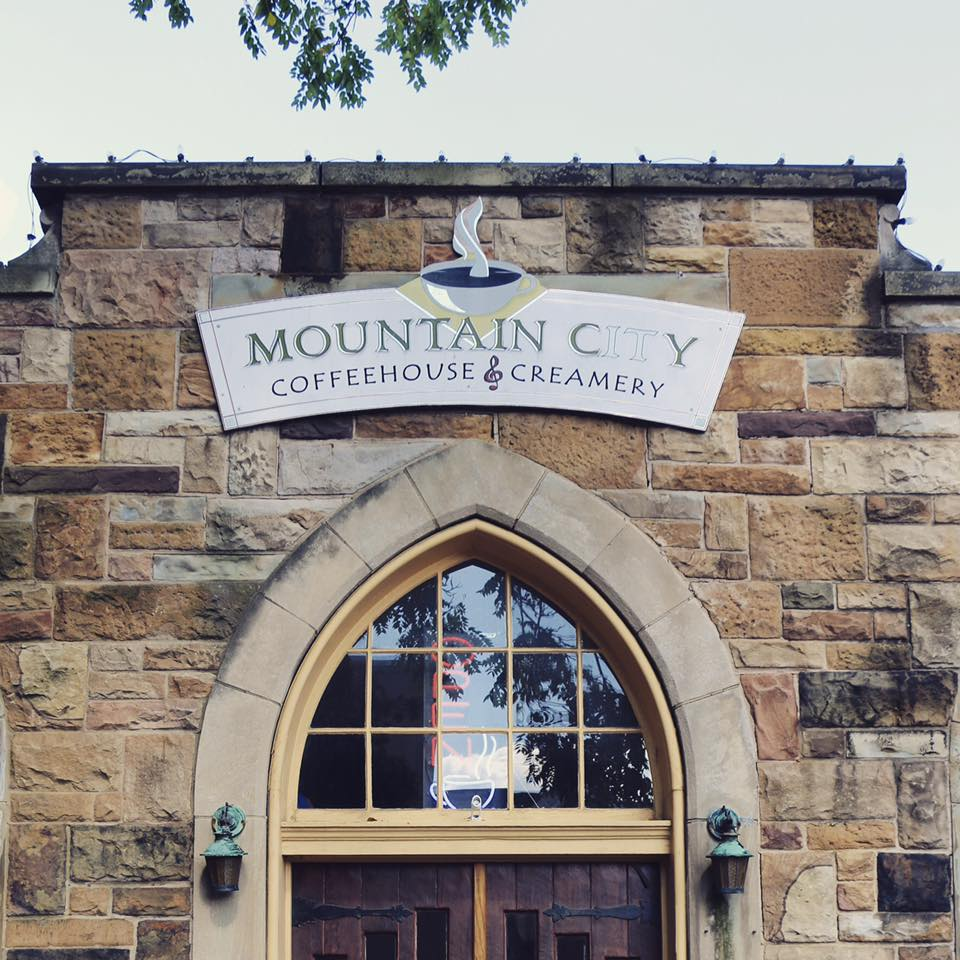 mountain city coffee house storefront