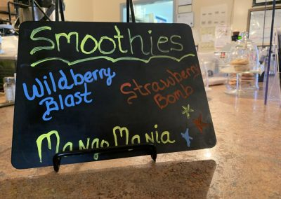 smoothie sign